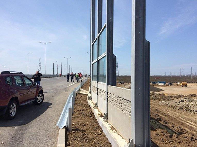 Автодорожная часть крымского моста прошла приемочные испытания