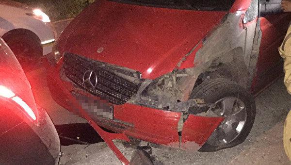 ВОдесской области подорвали гранатой автомобиль