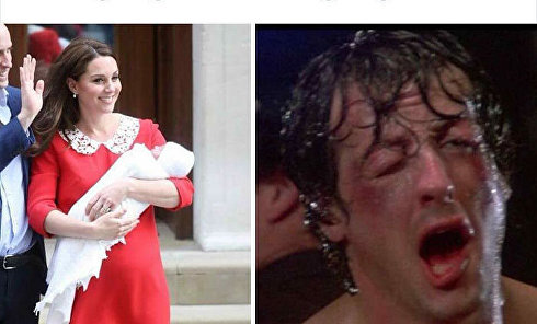 Британские роженицы vs Кейт Миддлтон