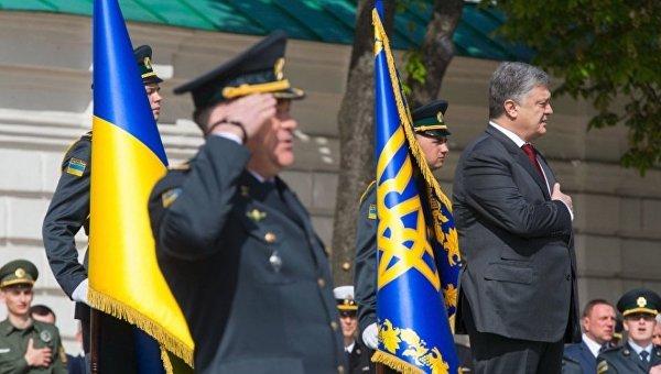 Президент Петр Порошенко на мероприятиях по празднованию 100-летия Пограничной службы Украины