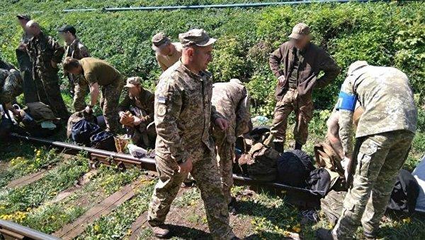 Военная служба правопорядка ВСУ проверила подразделение разведчиков, которые возвращались из зоны АТО