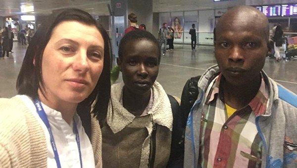 В Борисполе пограничники намеревались выдворить кенийских бегунов из Украины