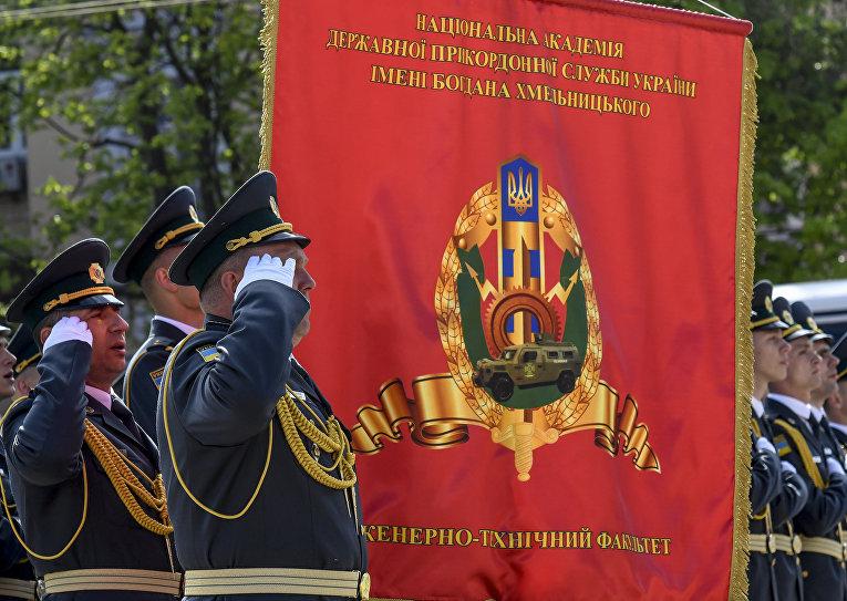 Торжества по случаю 100-летия погранслужбы Украины в Киеве
