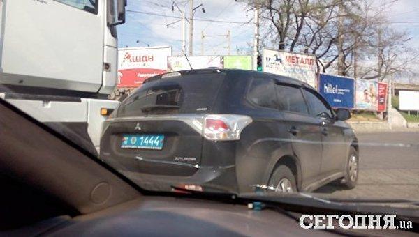 В Одессе ДТП с участие полицейской машины
