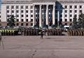 Построение полиции и нацгвардии на Куликовом поле