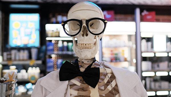 Искусственный скелет человека