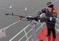 Пограничник береговой охраны ФСБ России