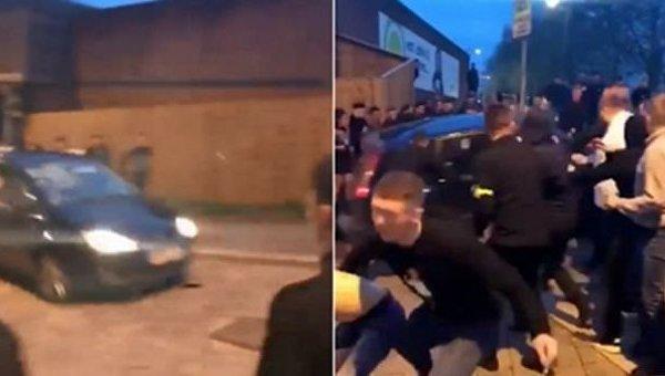 Инцидент с наездом на людей в Британии