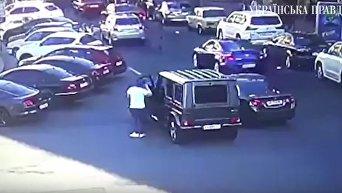 Появилось видео начала конфликта, в котором пострадал Найем