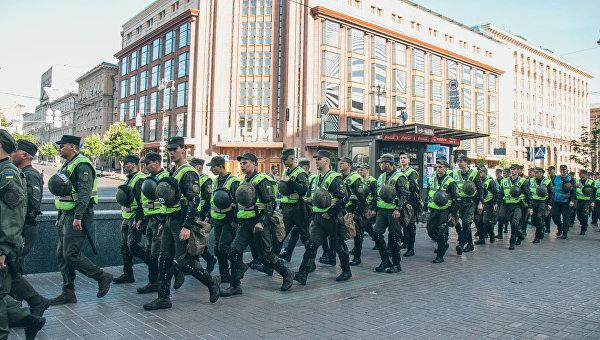 Силовики в центре Киева