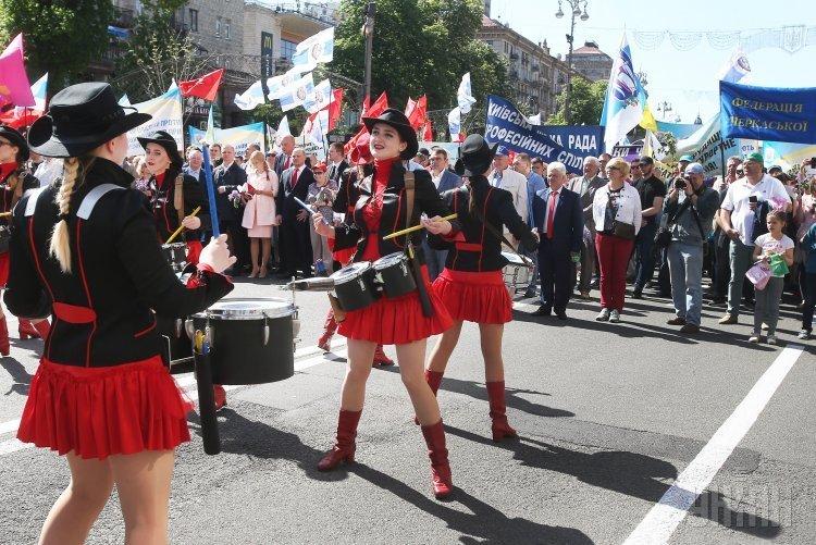 1 мая в Киеве