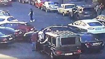 Момент нападения на Мустафу Найема в Киеве
