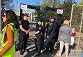 Усиленная охрана Куликова поля в Одессе, где в 2014 году погибли 48 человек