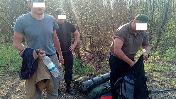 Пограничники задержали россиянина и украинцев за попытку попасть в Чернобыльскую зону