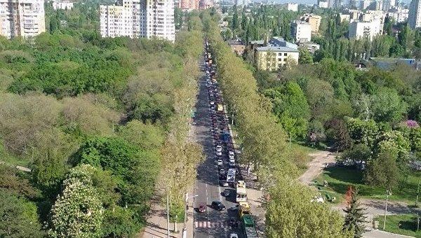 Пробки в Одессе