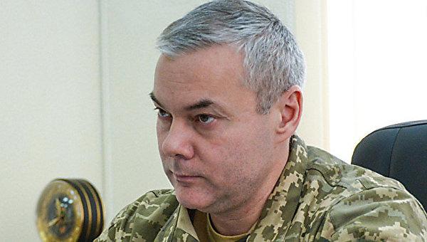 Глава Объединенных сил Украины Сергей Наев