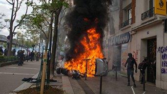Последствия первомайских протестов во Франции