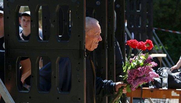 Памятные мероприятия по случаю четвертой годовщины событий в Одессе 2 мая 2014 г.