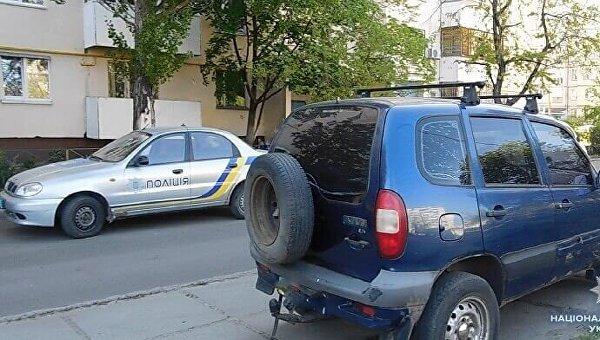 На месте драки в Киеве