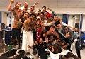Игроки Ливерпуля радуются выходу в финал Лиги чемпионов