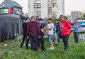 В Днепре из-за граффити в честь СС Галичина подрались местные жители и активисты