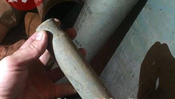 В Киеве нашли схрон оружия