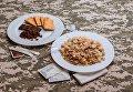 Новый паек для украинских военных - завтрак