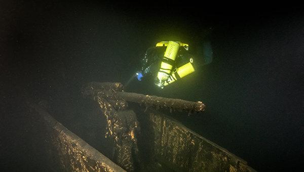 Подводная лодка Щ-317, обнаруженная участниками экспедиции Поклон кораблям Великой Победы