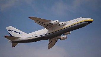 Антонов показал полет Руслана на выставке в Турции