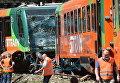 В Чехии столкнулись два пассажирских поезда