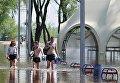 В Чернигове из-за разлива реки затопило городской пляж