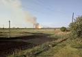 Взрывы каждые 5 секунд. Снято видео в километре от арсенала в Балаклее. Видео