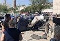 В Днепре фура снесла 10 машин