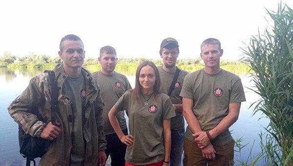 Глава Правого сектора Одесской области Татьяна Сойкина