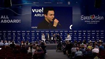 Представитель Украины на Евровидении оконфузился, забыв украинский язык