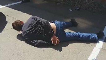 Собеседование по-одесски: работодателя избили и угнали авто. Видео