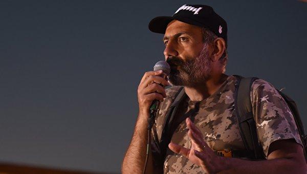 Лидер оппозиции в Армении Никол Пашинян. Архивное фото