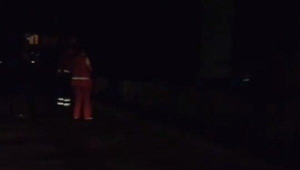 Взрыв на Куреневке в Киеве