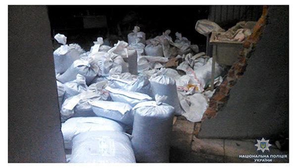 Изъятые наркотики в Сумской области