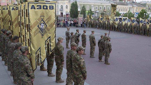 Марш Азова в Бердянске