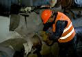 В городе Каменское начались работы по отключению домов от центрального отопления