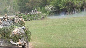 Дерзкие действия украинских военных изменили сценарий учений НАТО в Германии. Видео