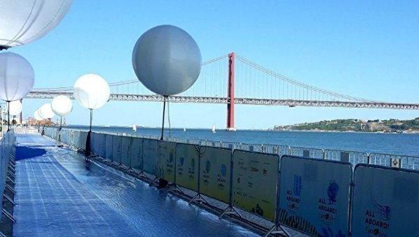 Голубая дорожка Евровидения в Лиссабоне