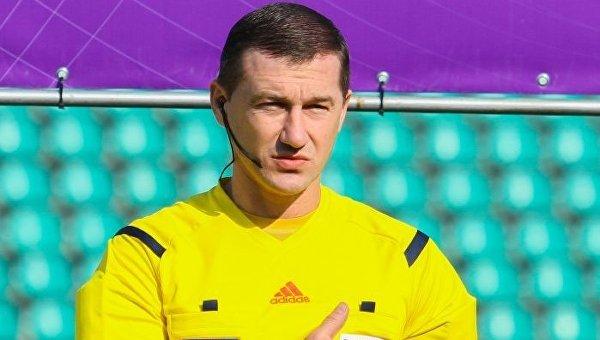 Украинский футбольный арбитр Юрий Можаровский