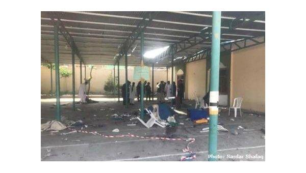 В Афганистане взорвали мечеть