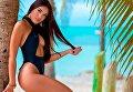 Американская модель Ellie Di Virgilio