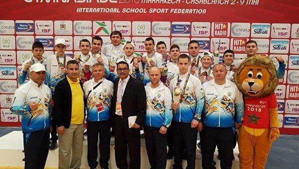 Мужская сборная Украины по боксу среди школьников