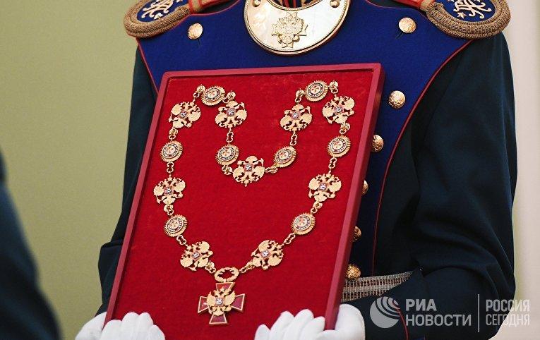 Инаугурация президента России В. Путина