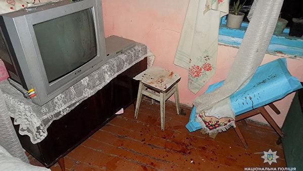 На месте убийства в Тернопольской области