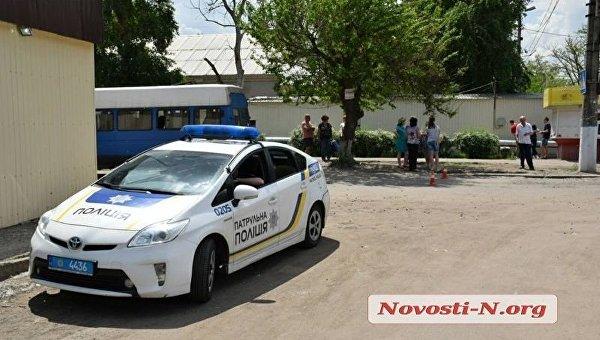 На месте ДТП в Николаеве, где маршрутка насмерть сбила женщину